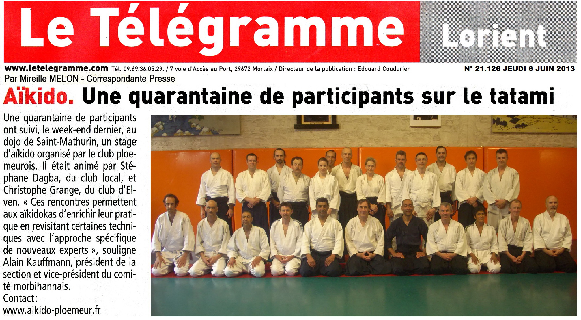 article telegramme du 6 juin 2013 20130606 1280412665