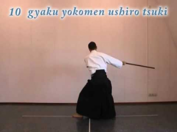 Aikido instruction: jo suburi 1 thru 20
